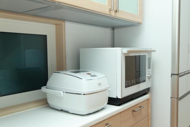 電子レンジ・炊飯器などの調理家電