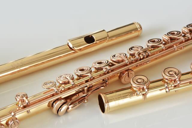 管楽器(フルート、トランペット、サックス)