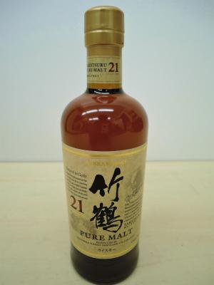 ウイスキー ニッカ 竹鶴21年