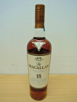 ウイスキー サントリー MACALLAN 18年