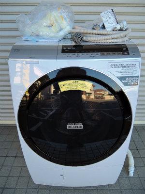 2021年4月買取 ドラム式洗濯乾燥機 日立 2020年製