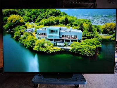 2021年1月買取 SONY 4K有機ELテレビ 65型 2018年製
