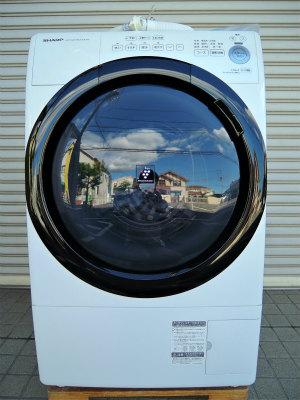 2021年4月買取 ドラム式洗濯乾燥機 SHARP 2020年製