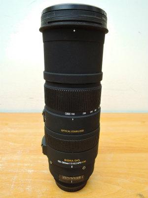 カメラレンズ SIGMA DG 150-500mm