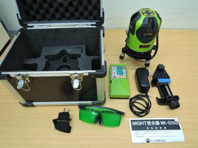 レーザー墨出し器 マイト工業 MLS-443G