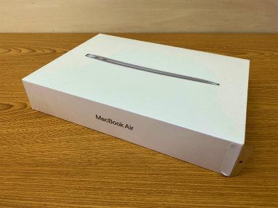 2021年5月買取 MacBook Air MVH22J/A 未開封品