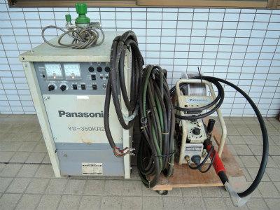 2021年5月買取 Panasonic 半自動溶接機 YD-350KR2