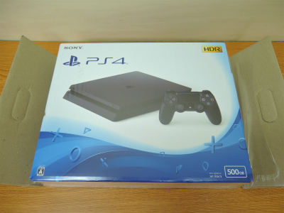 2021年4月買取 ゲーム機 PS4 新品未開封