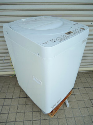 2021年6月買取 洗濯機 7kg SHARP 2020年製