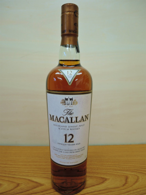 2021年7月買取 ウイスキー マッカラン12年